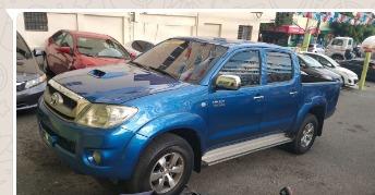 Toyota Tacoma 2009 Azul Cel.809-350-1345 Don Jose