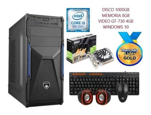 Imagen 1 de 7 de Computadora Cpu Intel Core I5 2.9 9na 1tb 8gb Gt-730 4gb, I7