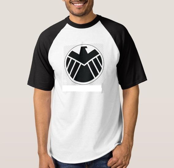 Camiseta Raglan Capitão América #1
