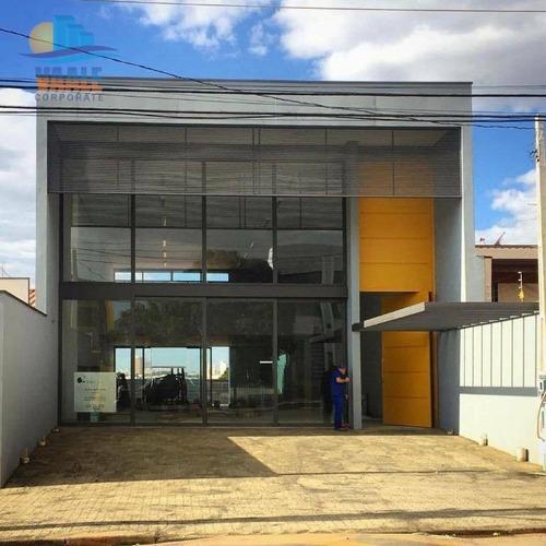 Barracão Comercial Para Locação, Parque Industrial, Campinas. - Ba0154