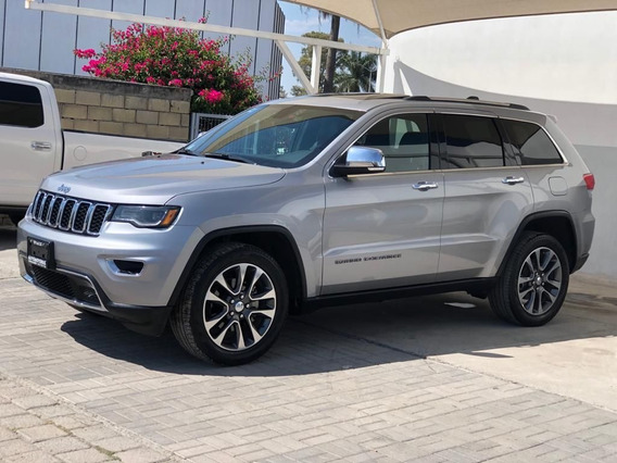 Jeep Grand Cherokee 2018 3.6 V6 Limited Lujo 4x2 At