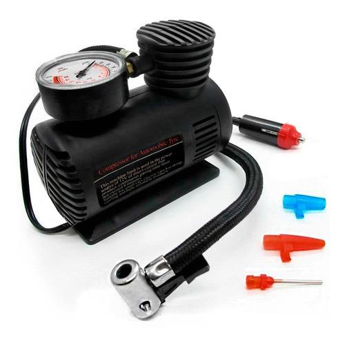 Imagem 1 de 5 de Mini Compressor De Ar 12 Volts 250/300 Psi