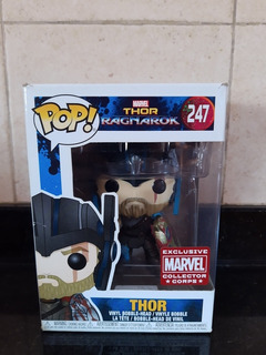 Funko Pop Thor #247 Exclusivo Collector Corps Marvel
