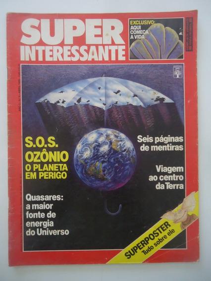 Super Interessante #07 Sos Ozônio O Planeta Em Perigo
