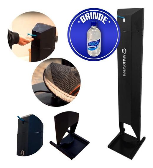 Dispenser Para Álcool Em Gel Com Pedal Maksigel + Brinde