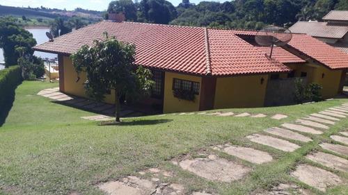 Imagem 1 de 24 de Bellíssima Chácara As Margens Da Represa E Em Condomínio - Ibiúna-sp - Chc51349v