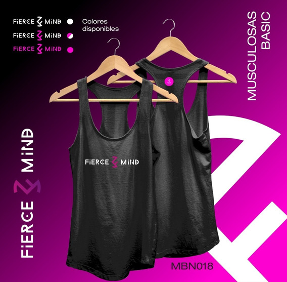 Musculosa Deportiva Gym Fitness Crossfit -mbn018