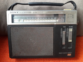 Rádio Antigo Sony Fm/am Receiver Icf-s5w Leia Descrição