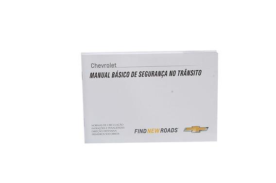 Manual Proprietário Cruze 12/15 Completo Original Em Branco