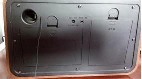 Rádio Retrô Imaginarium Usado Com Usb Am-fm Aux-in Ler