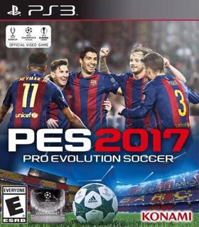 Pes 17 Pro Evolution Soccer 2017 Ps3 Versión Latino