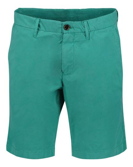 Shorts Classic Fit Tommy Hilfiger Verde Mw0mw06126398 Hombre