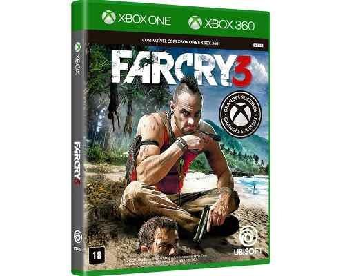 Jogo Far Cry 3 Xbox One / Xbox 360 Mídia Física - Lacrado