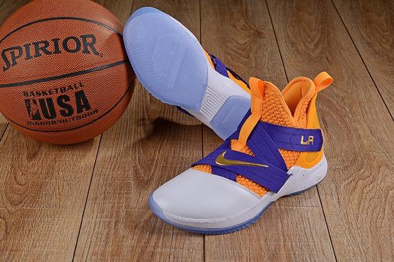 Tenis Nike Lebron Soldier 12 Na Caixa Varias Cores