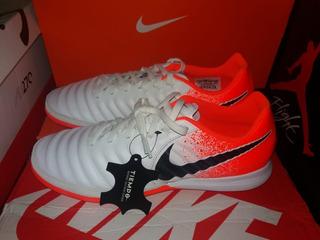 Zapatillas Futsal Nike Lunar Leyend 7 Pro Ic/ White/orange