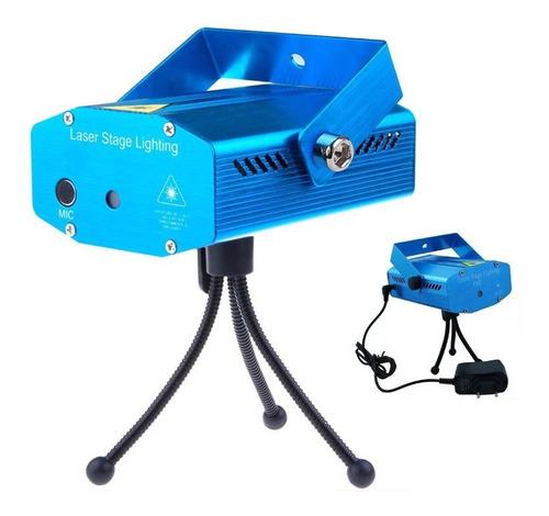 Laser Led Lluvia Multipunto Audioritmico Luces Dj Full