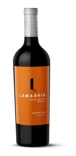 Vino Lamadrid Reserva Cabernet Franc 750ml Local