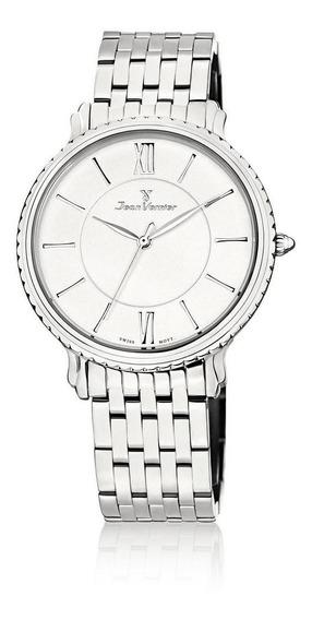Relógio Pulso Jean Vernier Casual Suíço Unissex Jv01026