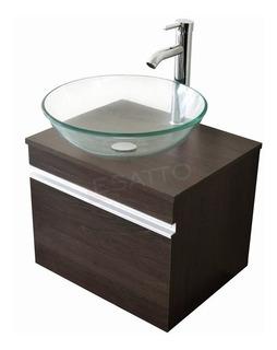 Esatto® Mueble Baño Dbta Drop Lavabo Ovalin Llave Desagües