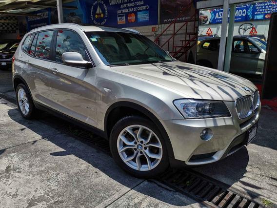 Bmw X3 Xdrive 28i 4cil 2.0 Turbo Top Aut 2013 Mineral Silver