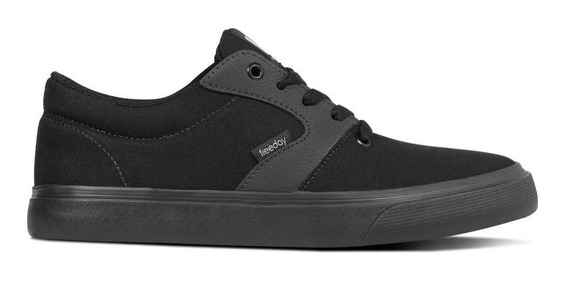 Tenis Freeday Save Preto/preto - 49301/b