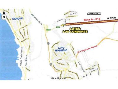 Alto Hospicio - Loteo Los Condores 9.663 M2