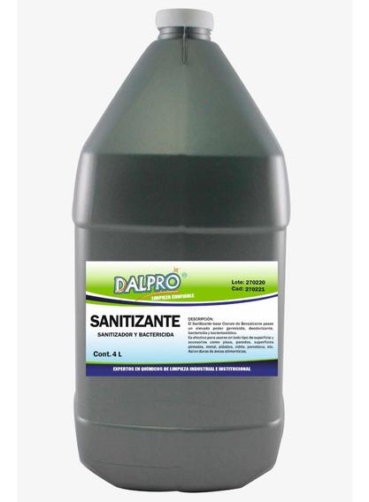 Desinfectante Sanitizante 4 Litros Dalpro