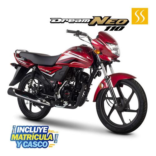 Moto Honda Dreamneo 2021 110cc Gratis Matricula + 1 Casco
