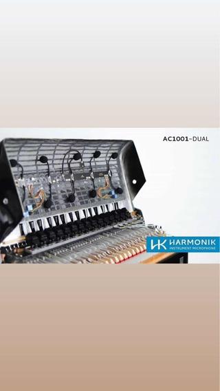 Captação Harmonik Lançamento Ac 1001 Dual