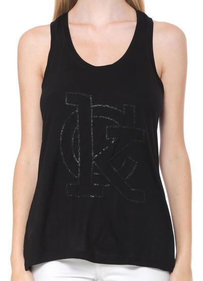 Blusa Regata Calvin Klein Nadador Logo Bordado Cf8pw01bs260