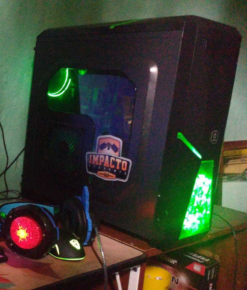 Pc Gamer Amd Completo