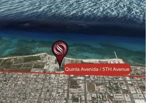 Imagen 1 de 9 de Terreno En Esquina A 1 Cuadra De La Quinta Avenida Y 3 Cuadr
