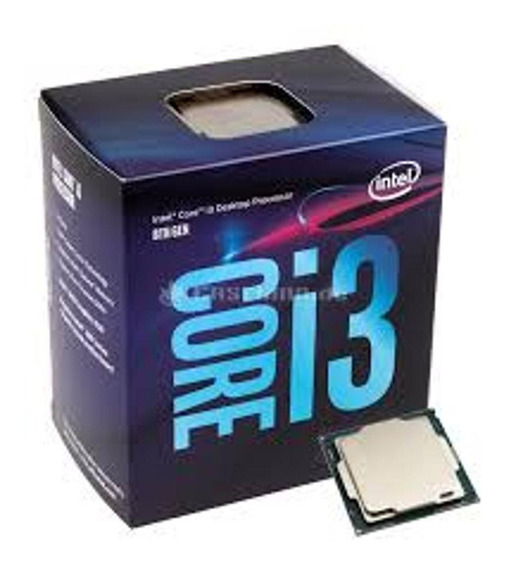 Processador Intel® Core I3-8100