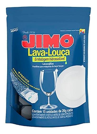 Lavavajillas Jimo En Pastillas 15 Un X 20 Grs