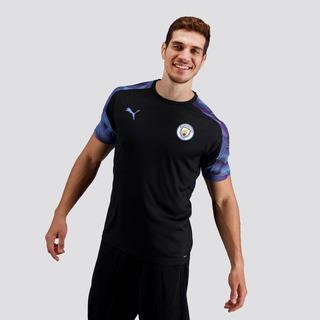 Camisa Puma Manchester City Treino 2020 Preta