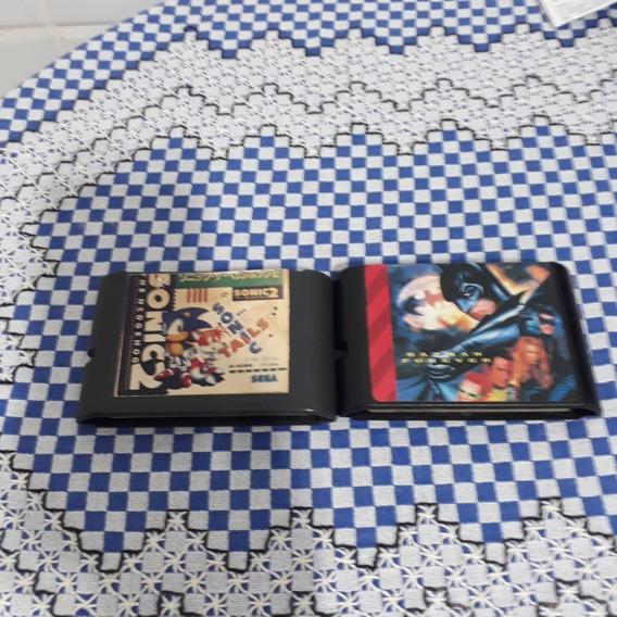 Sonic 2 E Batman Forever Mega Drive