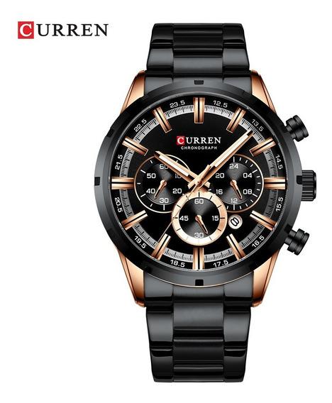 Reloj Curren Modelo 8355 Fresco De Cuarzo Funcional Envio