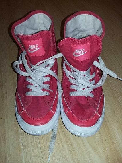 Botita Zapatilla Lona Nike
