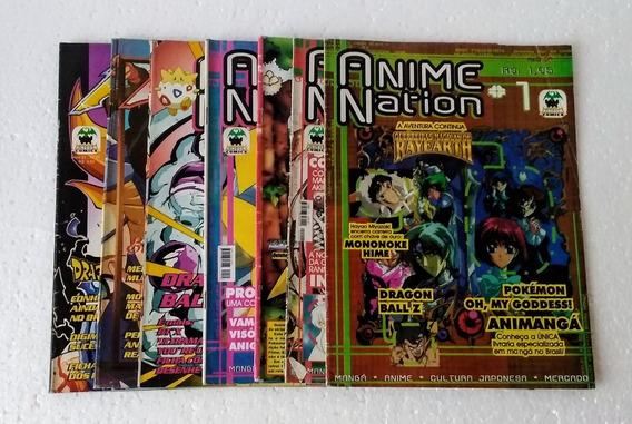 Revista Anime Nation (06 Unid) Ver Descrição