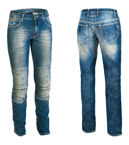 Jeans Italianos Para Motorista Pmj Mod Florida Unisex