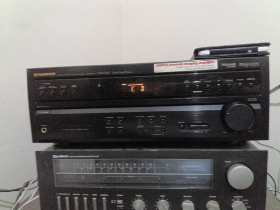 Receiver Home Theater Pioneer Modelo Vsx-d457 Japan Htp-302