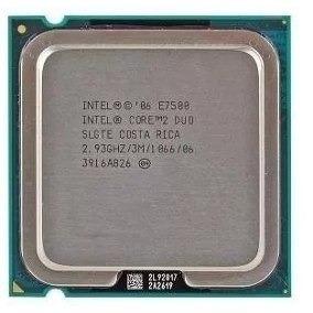 Proc. Intel Lga 775 Core 2 Duo E7500 2.93ghz -