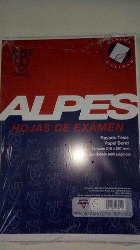 Hojas De Examen Alpes