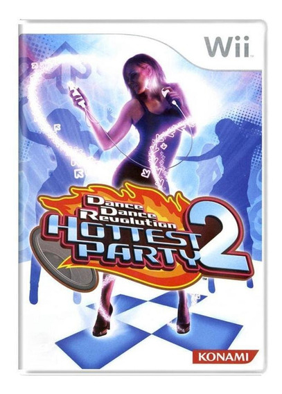 Dance Dance Revolution Hottest Party 2 Wii Mídia Física