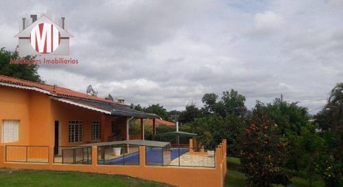 Imagem 1 de 18 de Linda Chácara Com Escritura, 4 Dormitórios, Pomar, Piscina, Vista Deslumbrante, À Venda, 1340 M² Por R$ 900.000 - Rural - Bragança Paulista/sp - Ch0964