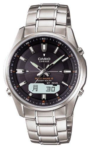 7bb9a1330d86 Hombre · Casio · Reloj Casio Reloj De Radio Solar Resistente Lineage Lineage