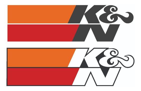 10 Adesivos K&n Kn Filtro Esportivo Audi Bmw Honda Hornet X1