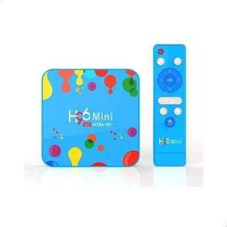 Nuevo Smart Tv Box H96 Android 9 4gb + 128gb 6k Ultra Hd