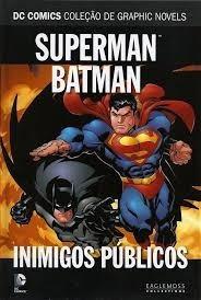 Hq Superman Batman Inimigos Públicos Eaglemoss