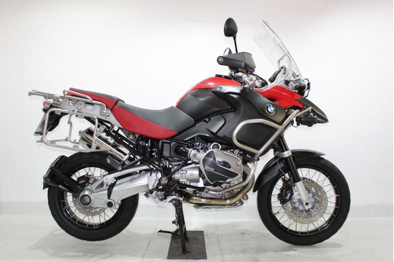 Bmw R 1200 Gs Adventure 2008 Vermelha
